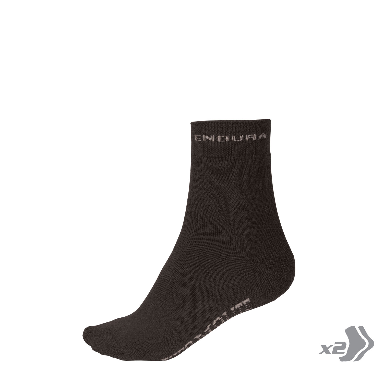THERMOLITE® Sock (Twin Pack) Black