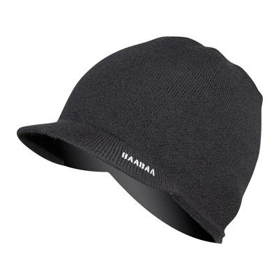 BaaBaa Merino Skip Beanie Black/None