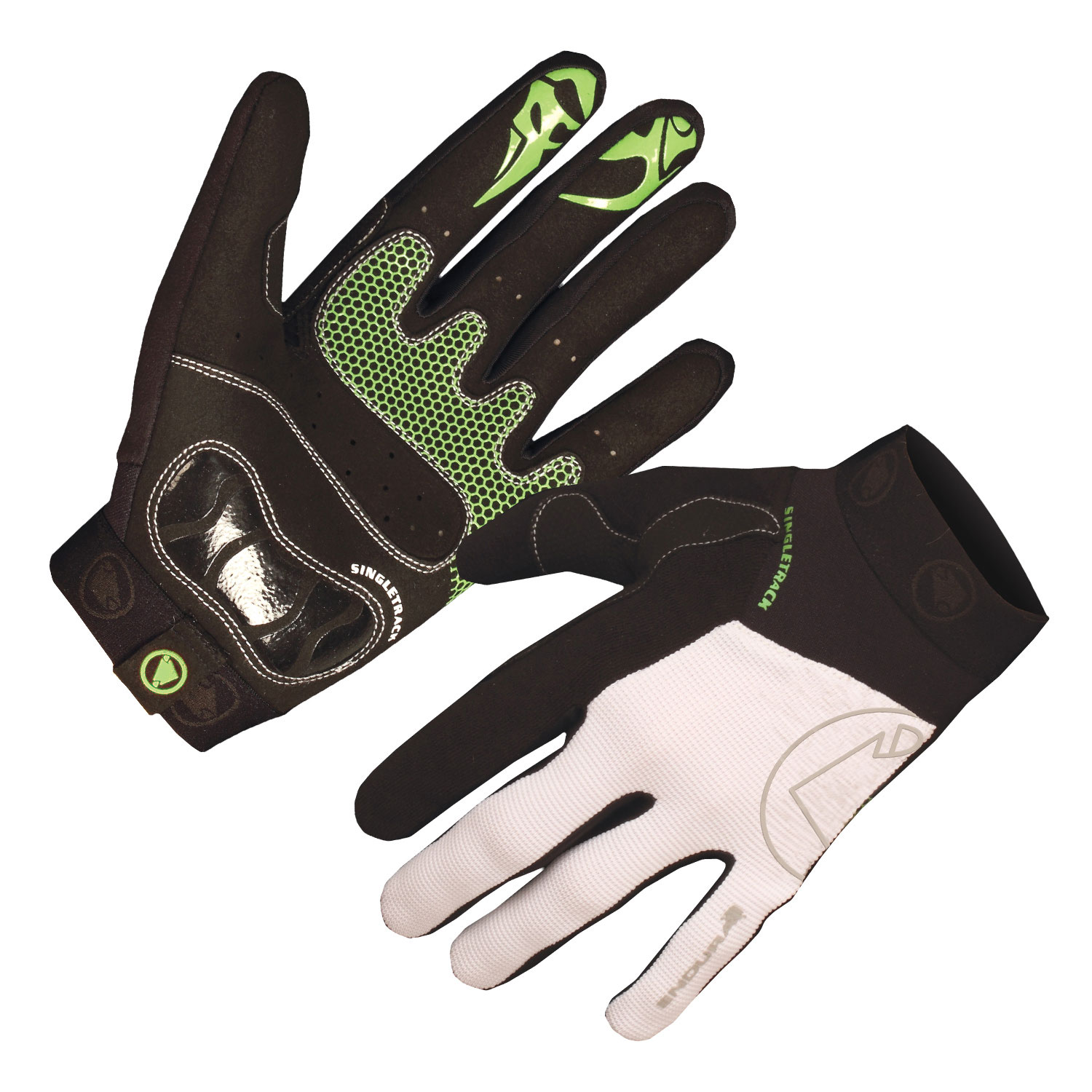 SingleTrack II Glove White