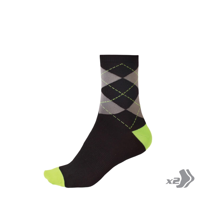 Endura Thermolite II Sock 2 Pack Mens