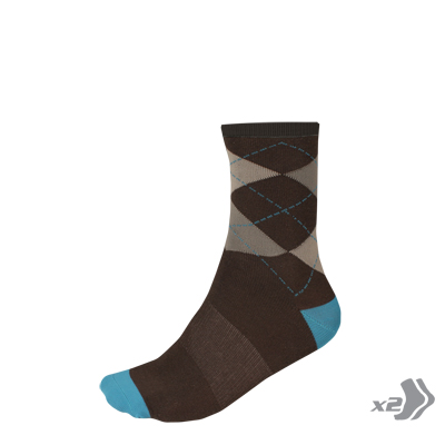 Argyll Sock (Twin Pack) Ultramarine