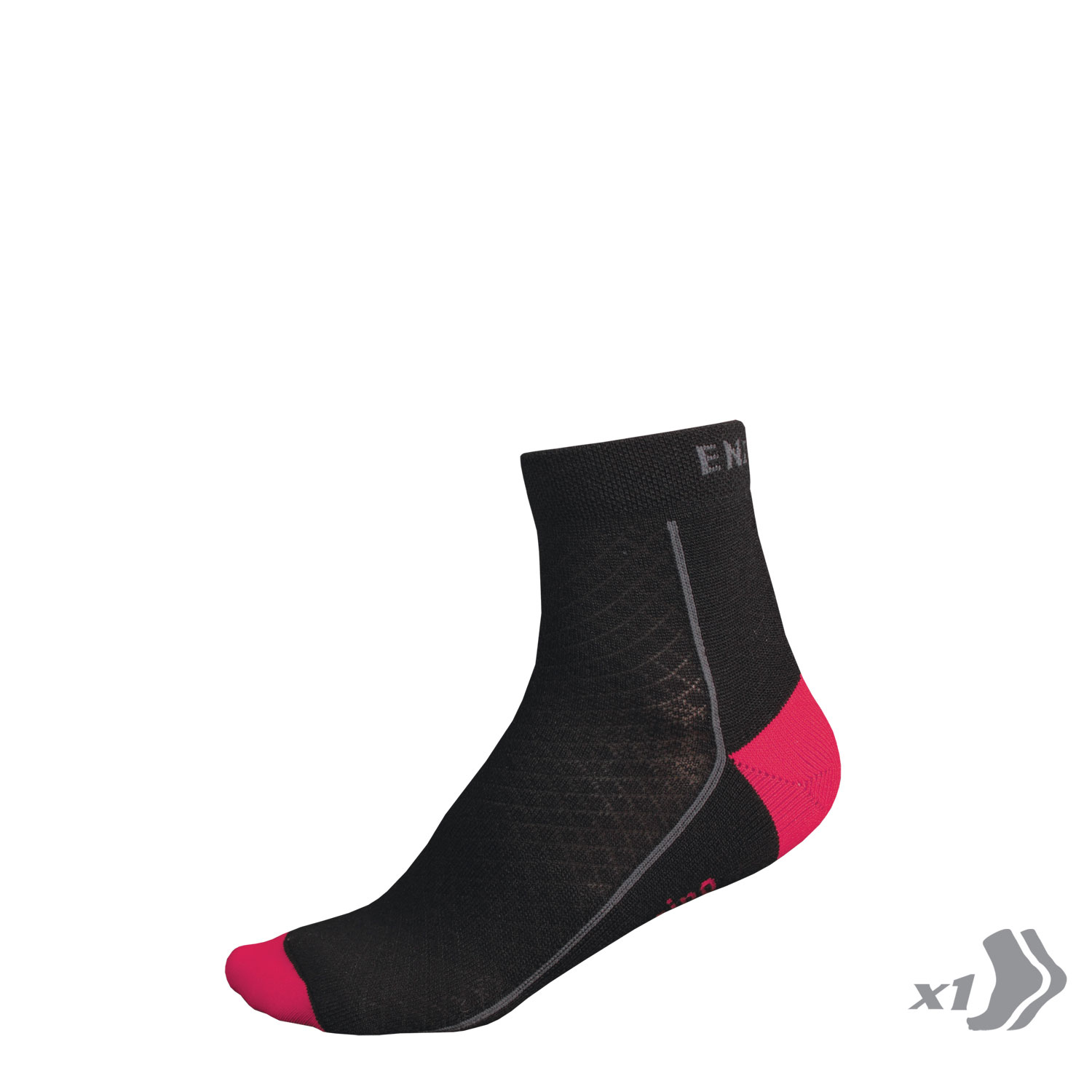Wms BaaBaa Merino Winter Sock (Single) Pink