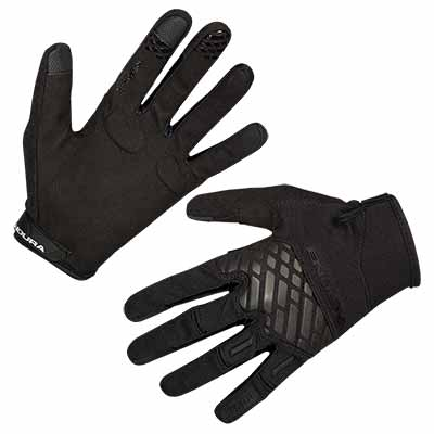 MT500 Glove II  Matt Black