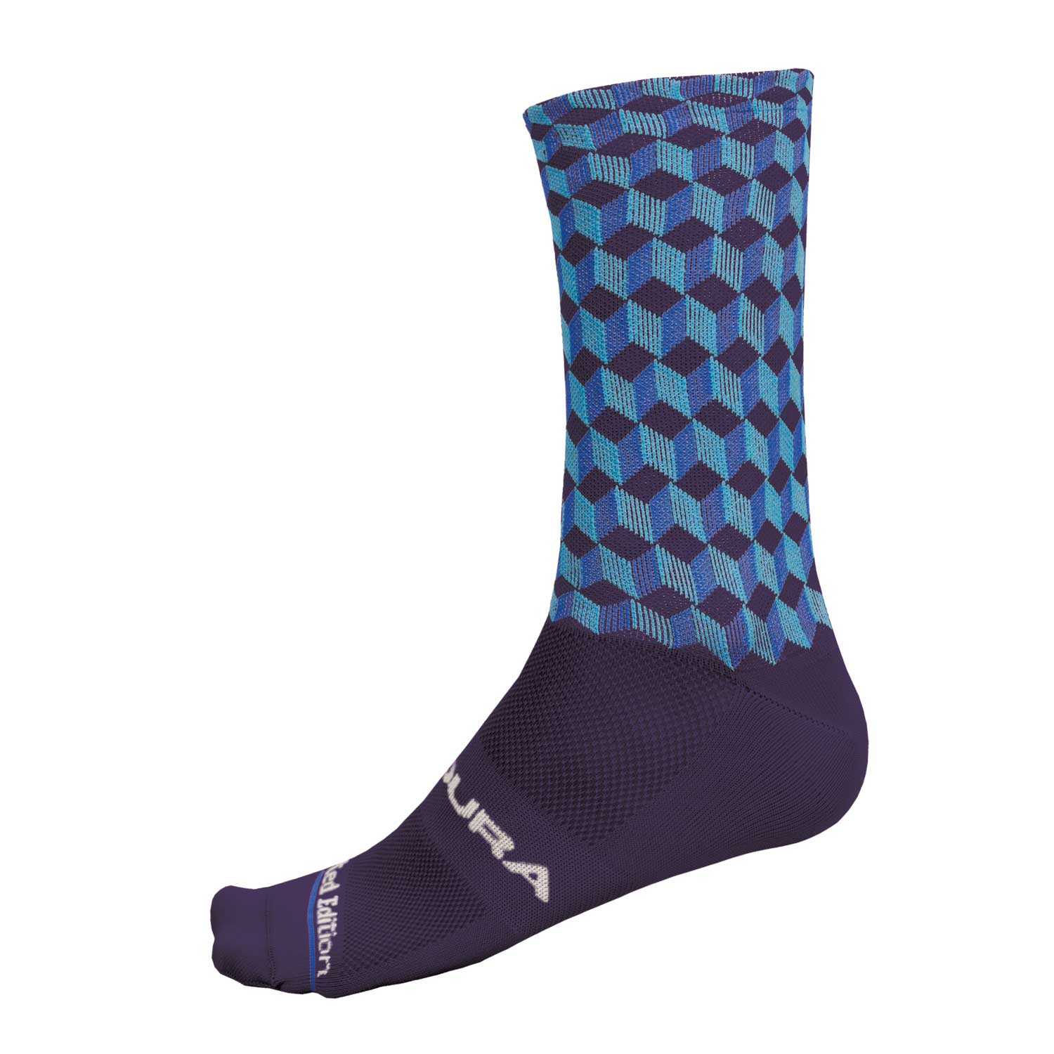 Cubitex Graphic Sock Blue