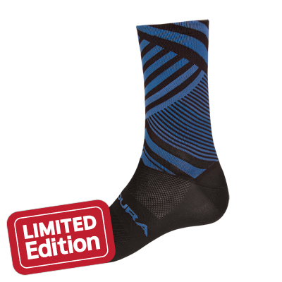 Oblixe Graphic Sock  Blue