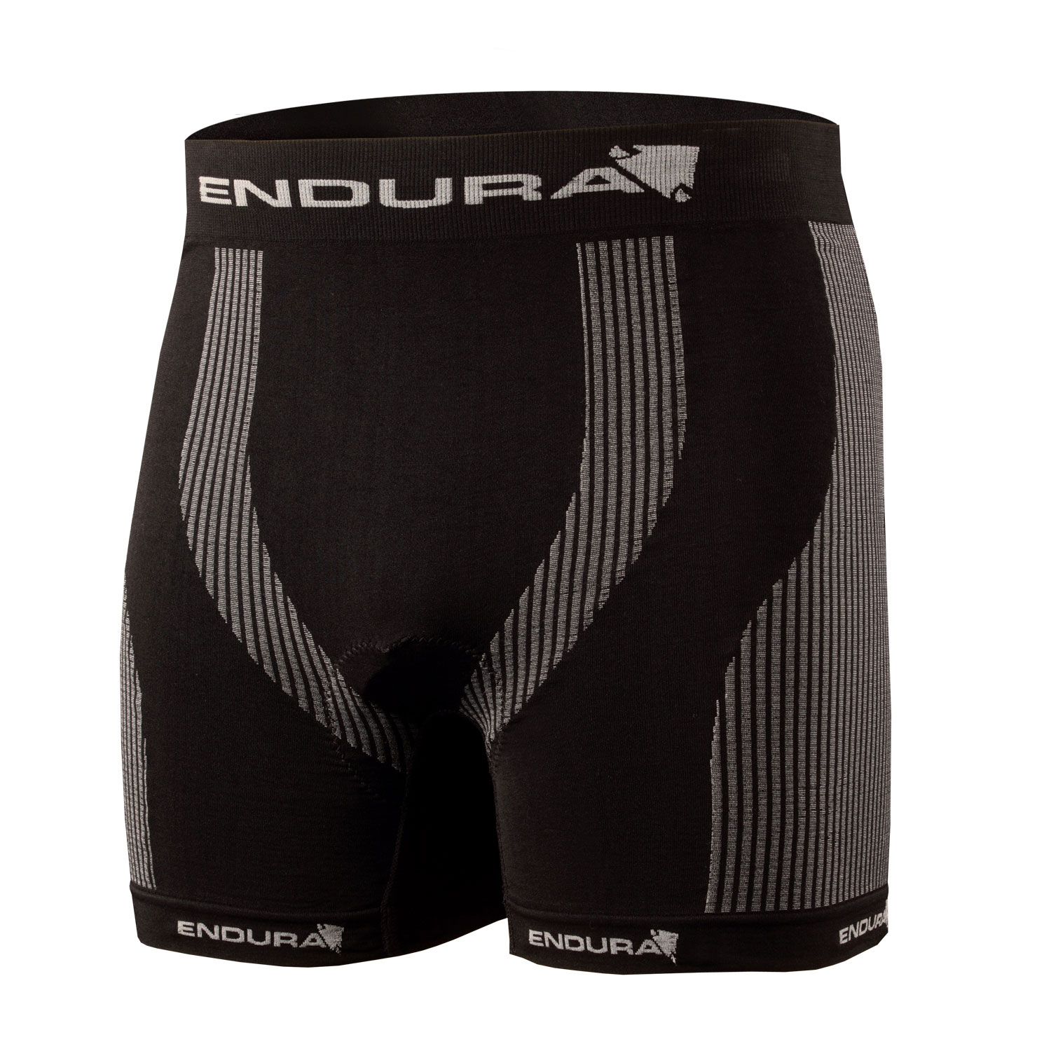 Engineered Padded Boxer Black