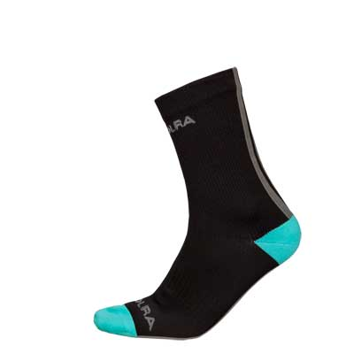 Hummvee Waterproof Short Sock  Black