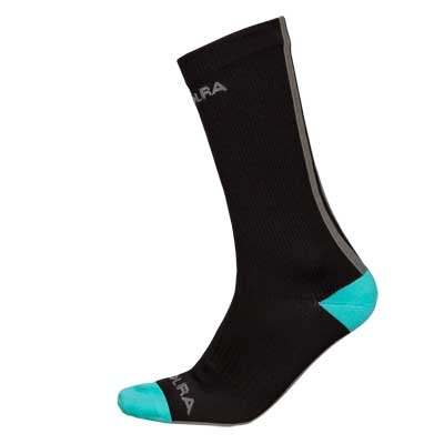 Hummvee Waterproof Mid Length Sock  Black
