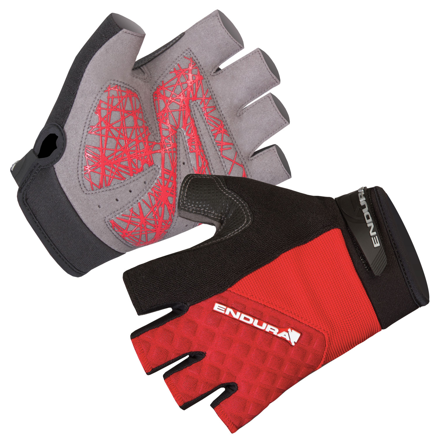 Hummvee Plus Mitt Red