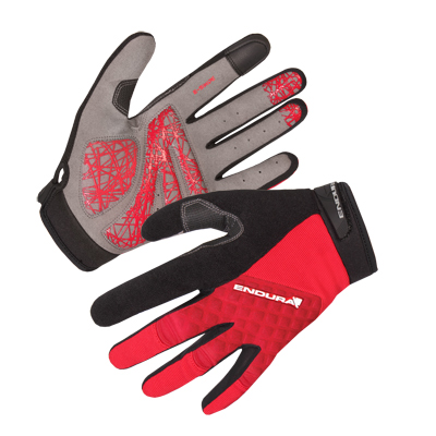 Hummvee Plus Glove Red