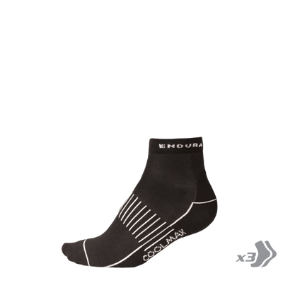 Wms COOLMAX® Race Sock (Triple Pack) Black