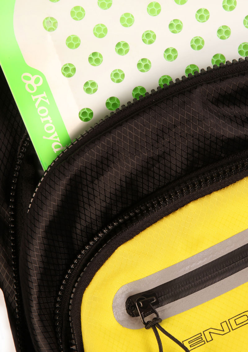 Integrated CE 1621-2 Level 2 Koroyd® back protector