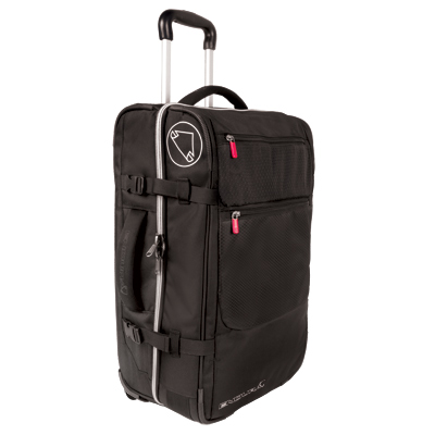 Roller Flight Deck Bag Black