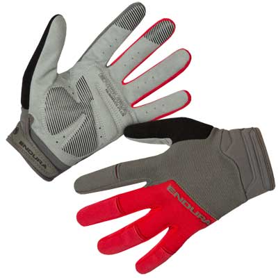 Hummvee Plus Glove II Red