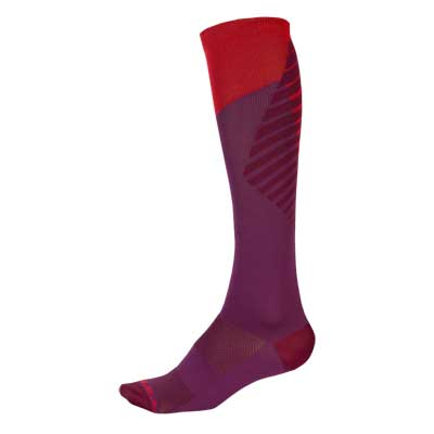 Wms SingleTrack Sock Mulberry