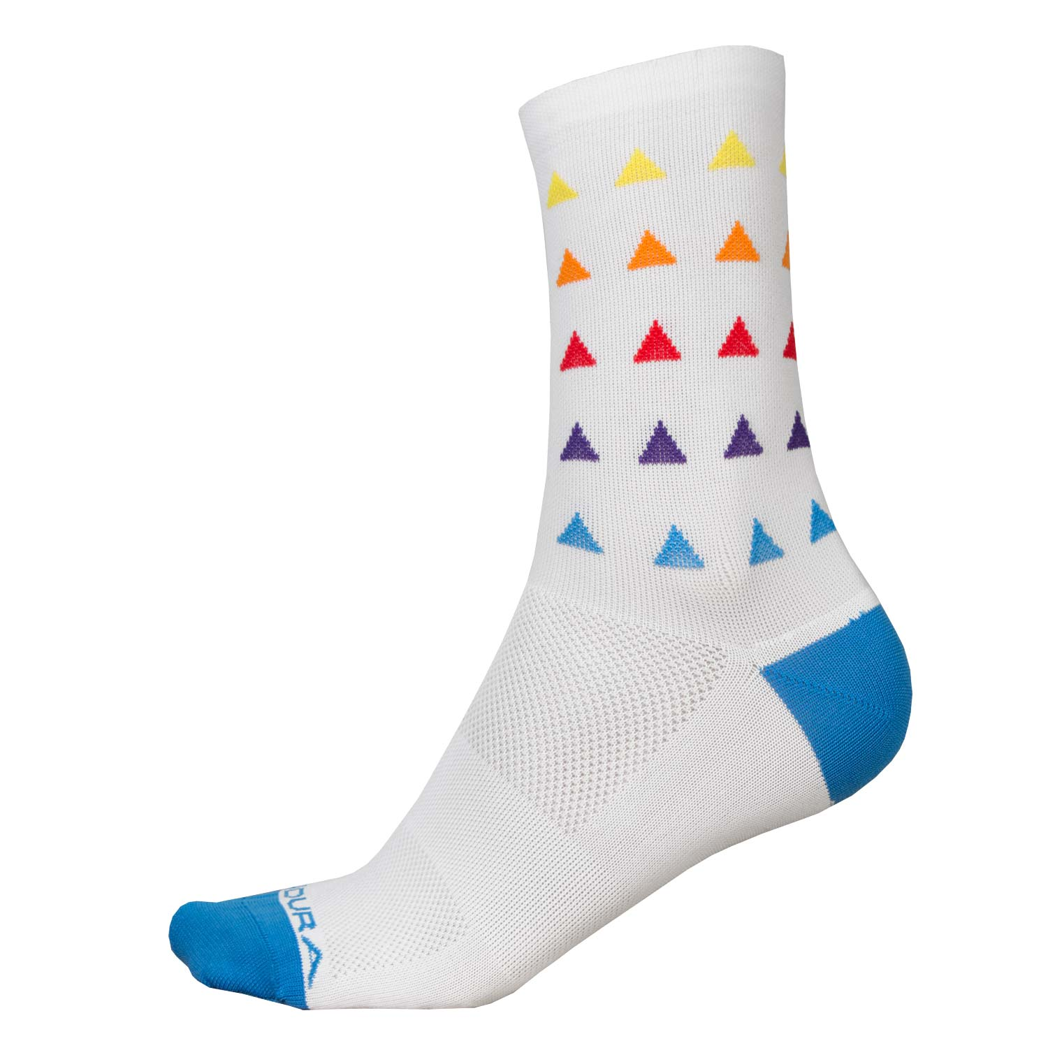 Wms Triangulate Sock White