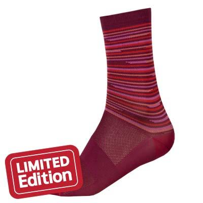 Wms Pinstripe Sock Pinstripe
