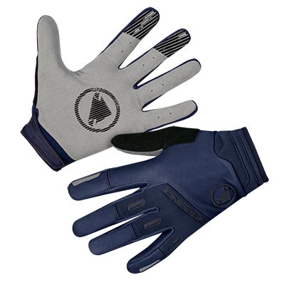 SingleTrack Windproof Glove Navy