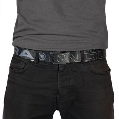 One Clan Webbing Belt Black