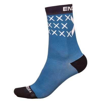 Scotland Flag Sock (Single) Blue