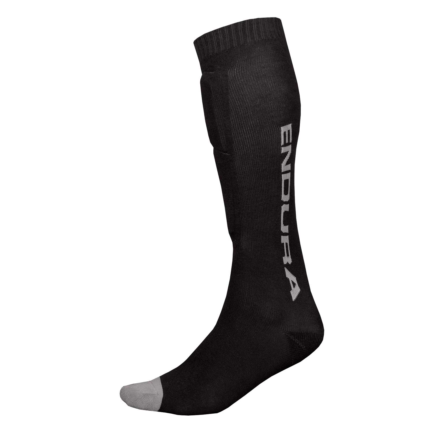 SingleTrack Shin Guard Sock Black