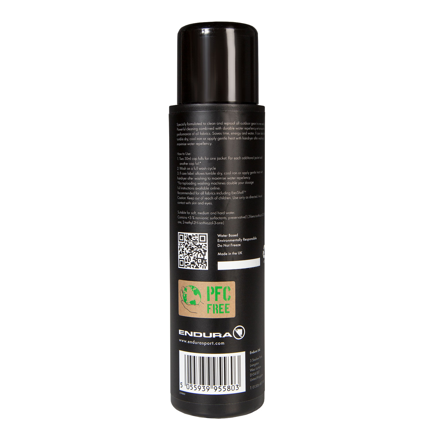 Apparel Cleaner and Re-proofer 300ml back