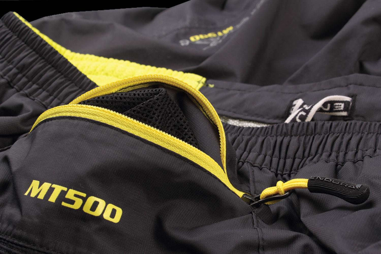 Rear zipped security pocket