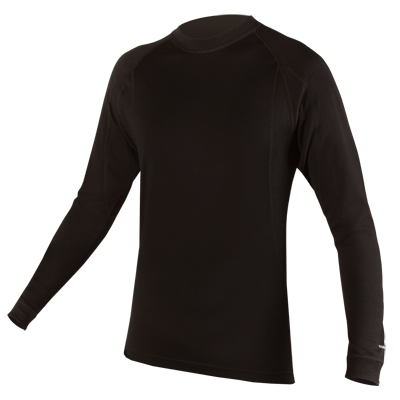 BaaBaa Merino L/S Baselayer Black/None