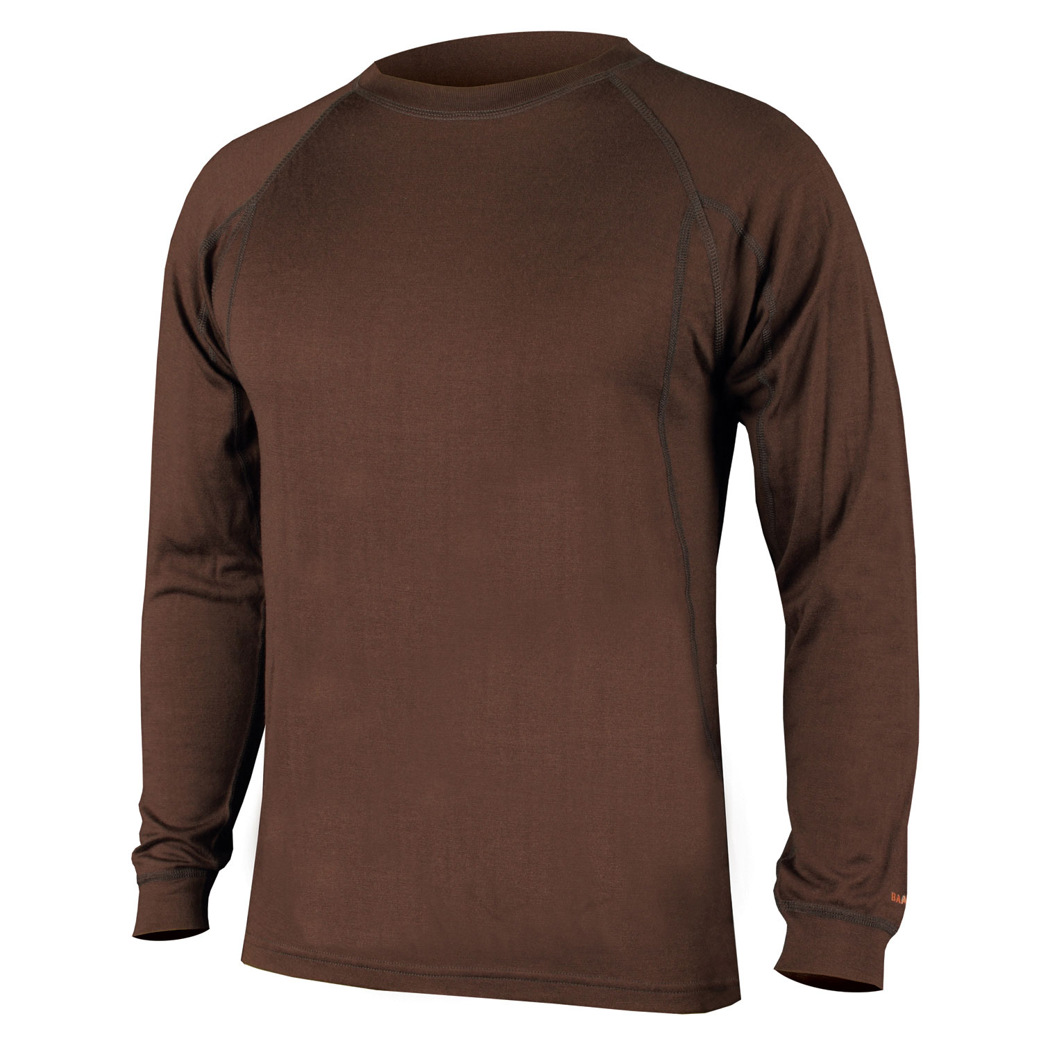 BaaBaa Merino L/S Baselayer Brown