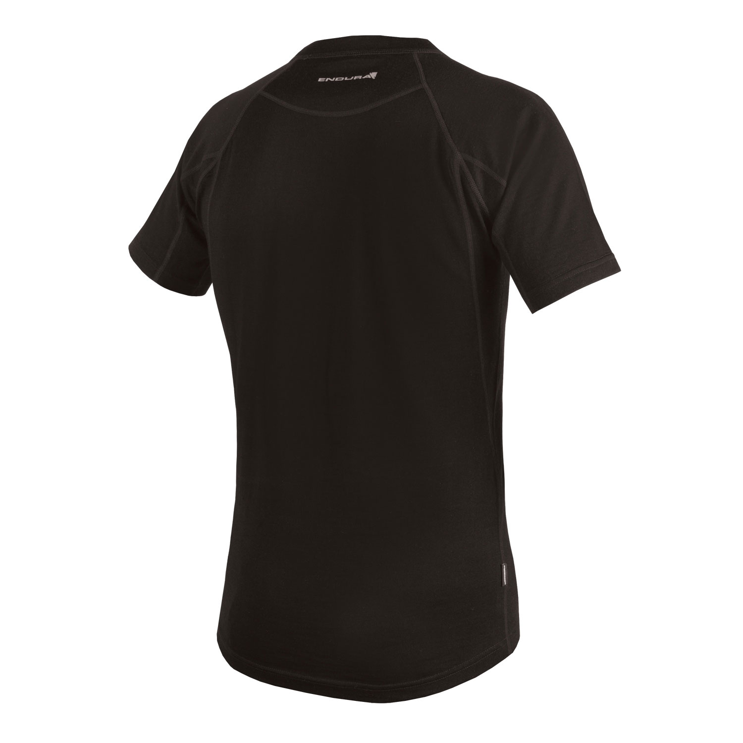 BaaBaa Merino S/S Baselayer Black/None