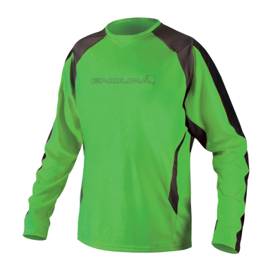 MT500 Burner II L/S Jersey Green (Kelly)
