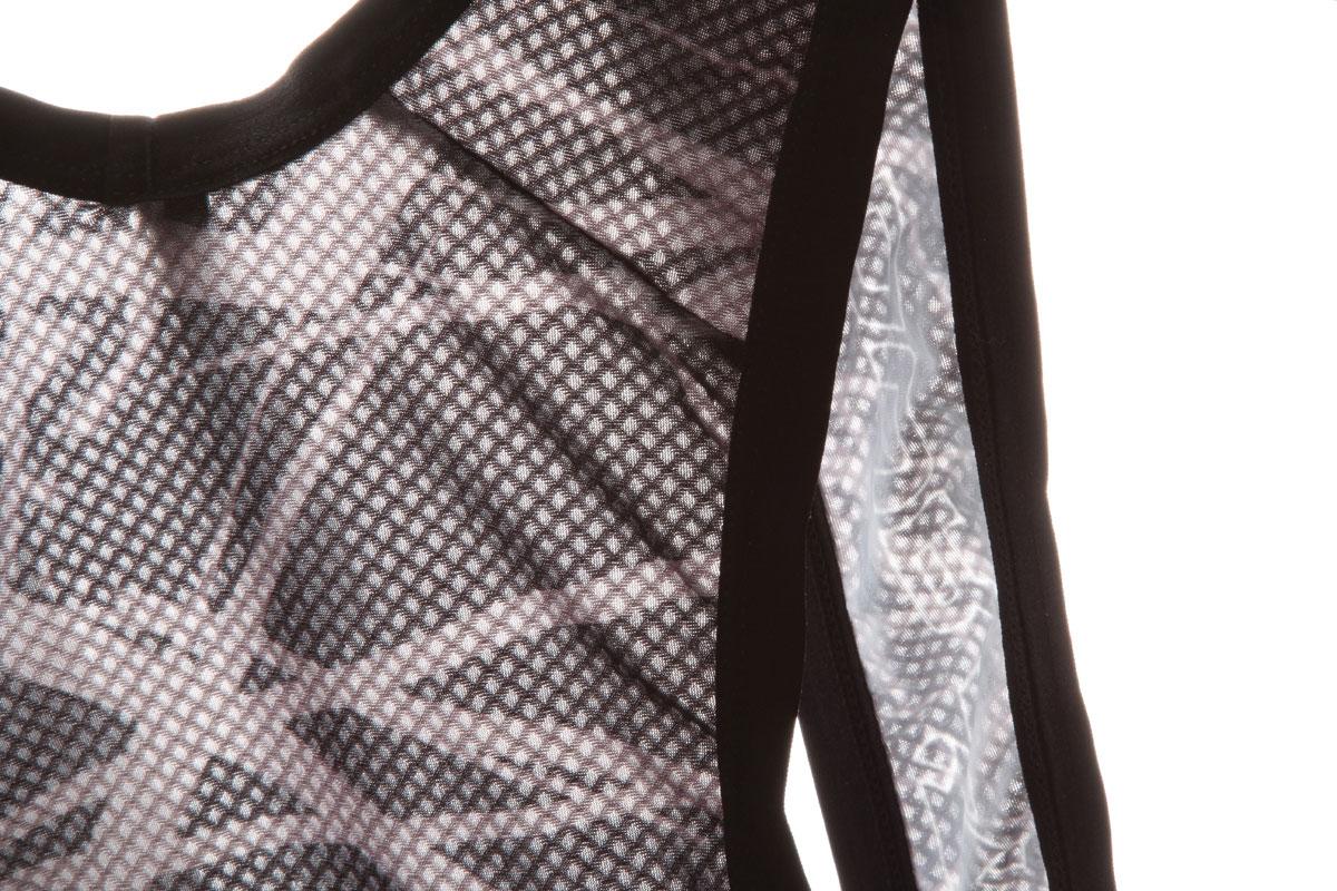 Lightweight mesh panels for enhanced ventilation