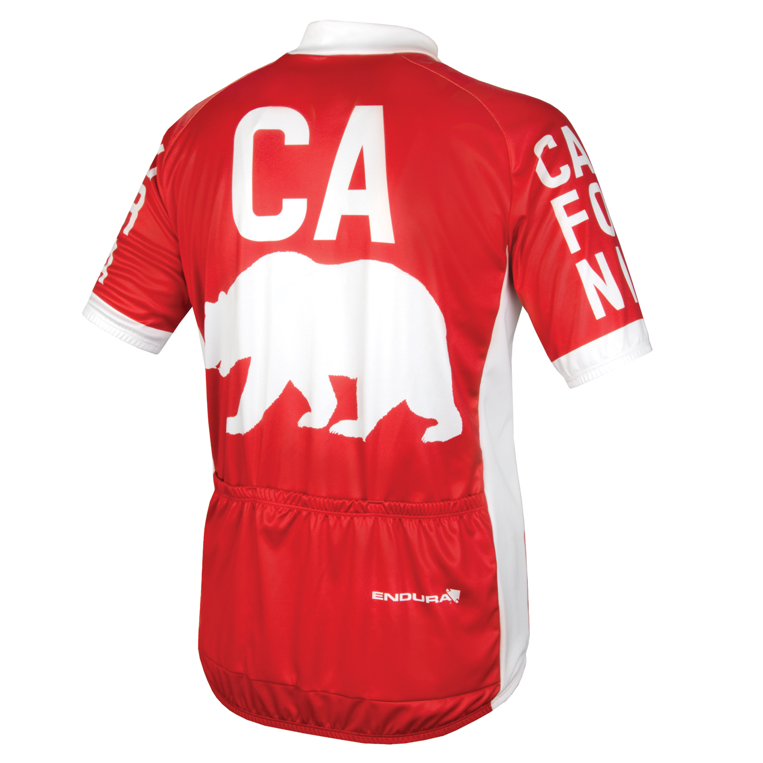 California SS Jersey  Red