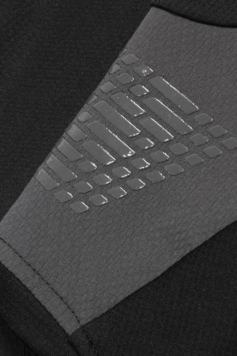 Silicone shoulder print for backpack strap grip
