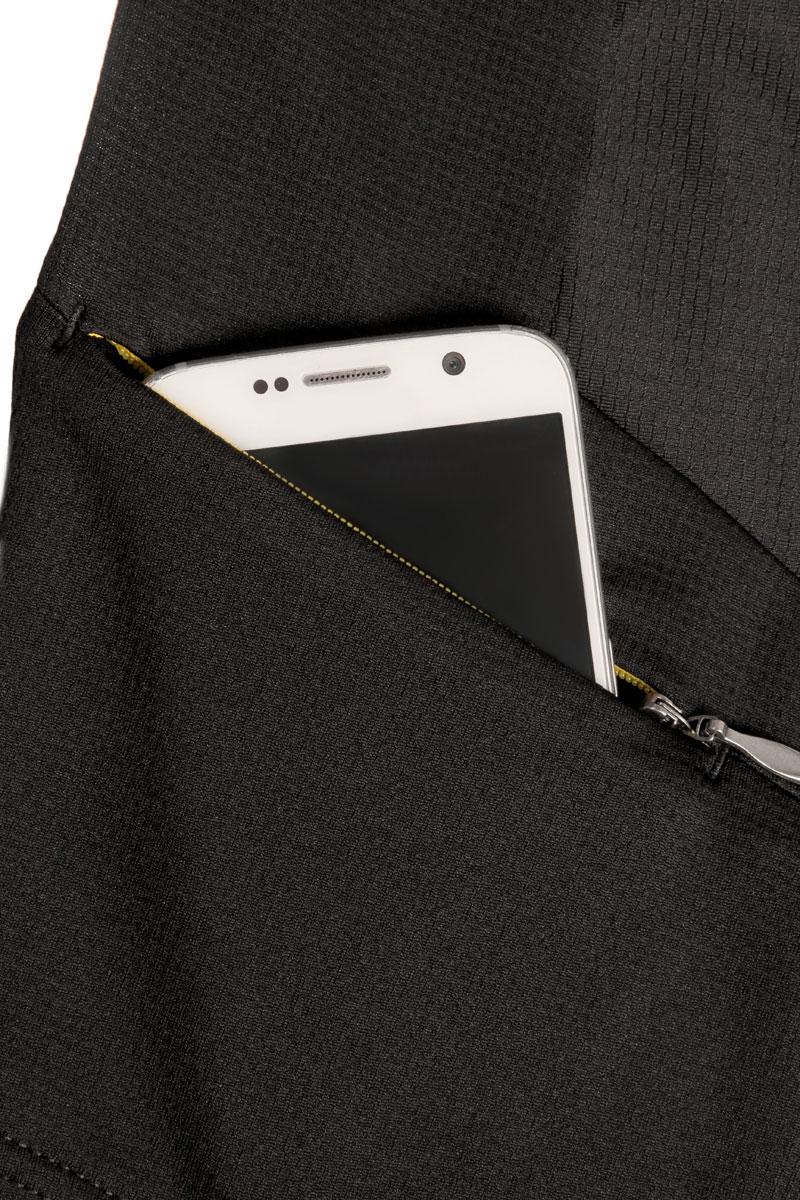 Side zipper security pocket