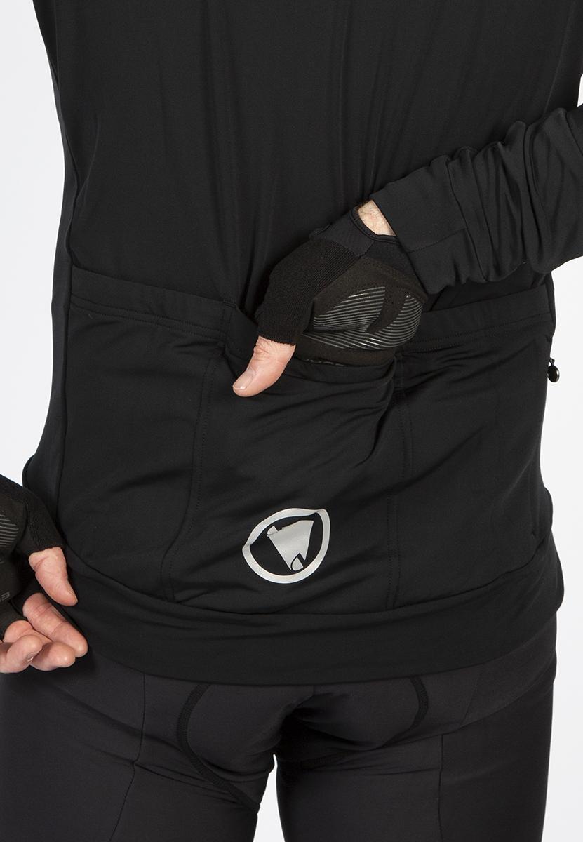 3 open rear pockets plus zipped security pocket