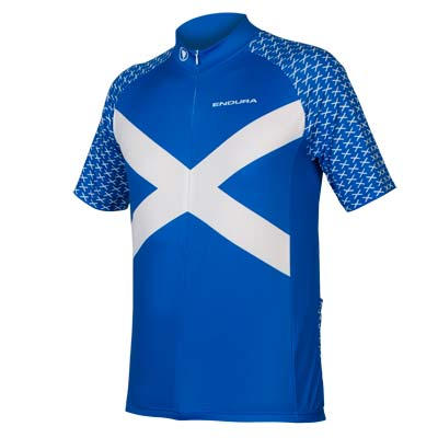 Scotland S/S Flag Jersey Blue