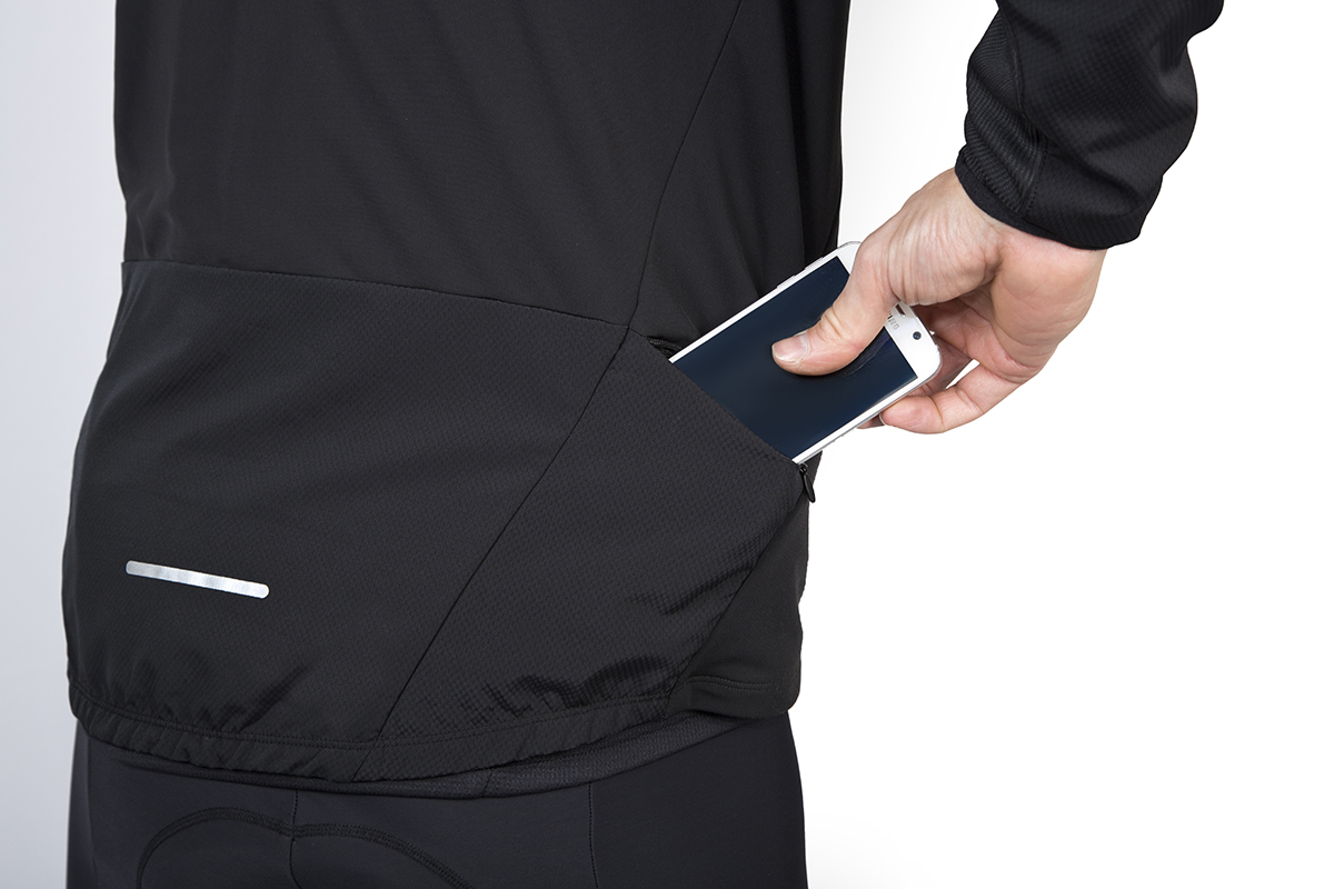 Side zipped pocket system