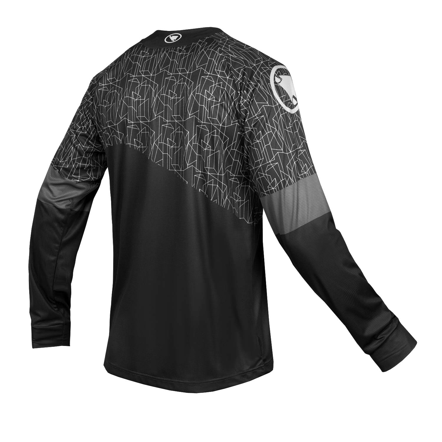 MT500 L/S Print T - LTD Black