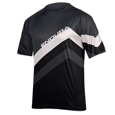 SingleTrack Core Print T  Black