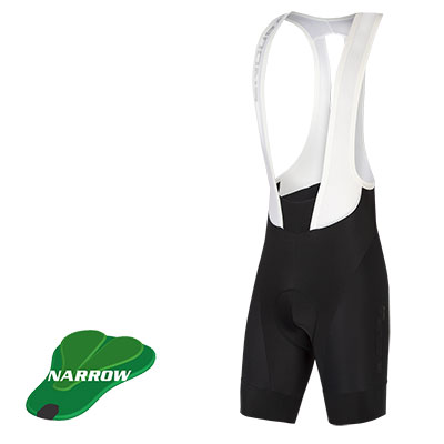 Pro SL Bibshort II Long Leg (narrow-pad) Black