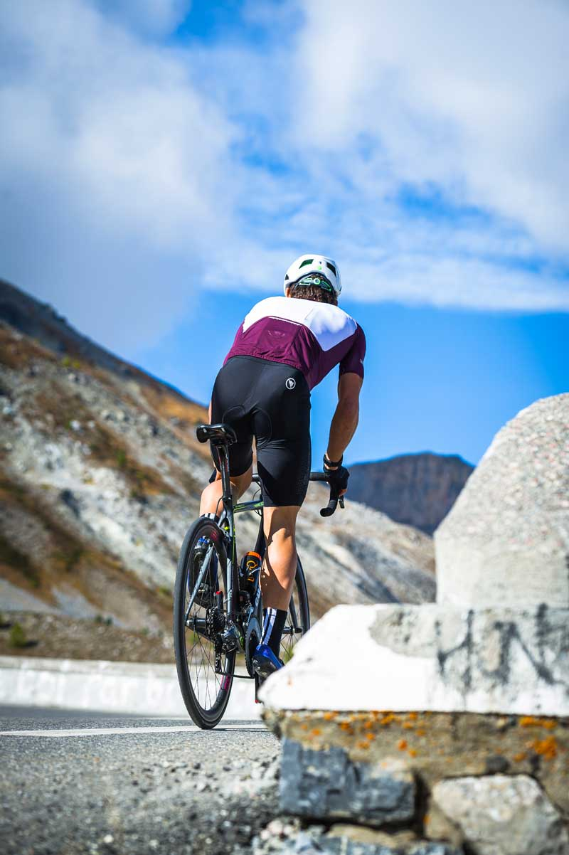 Game-changing bib short for hot climates