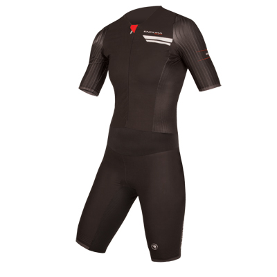 Wms QDC Drag2Zero S/S Tri Suit  Black