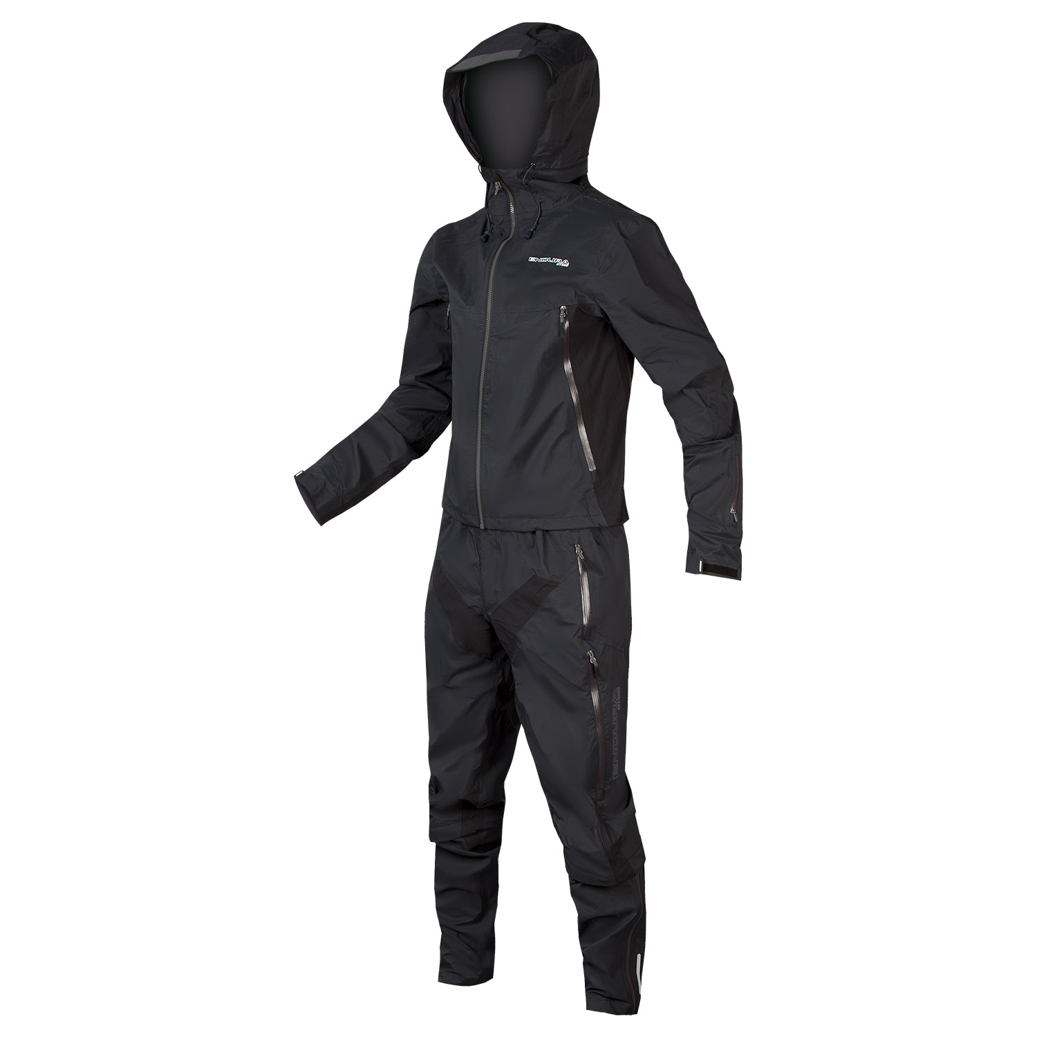 MT500 Waterproof Suit Black