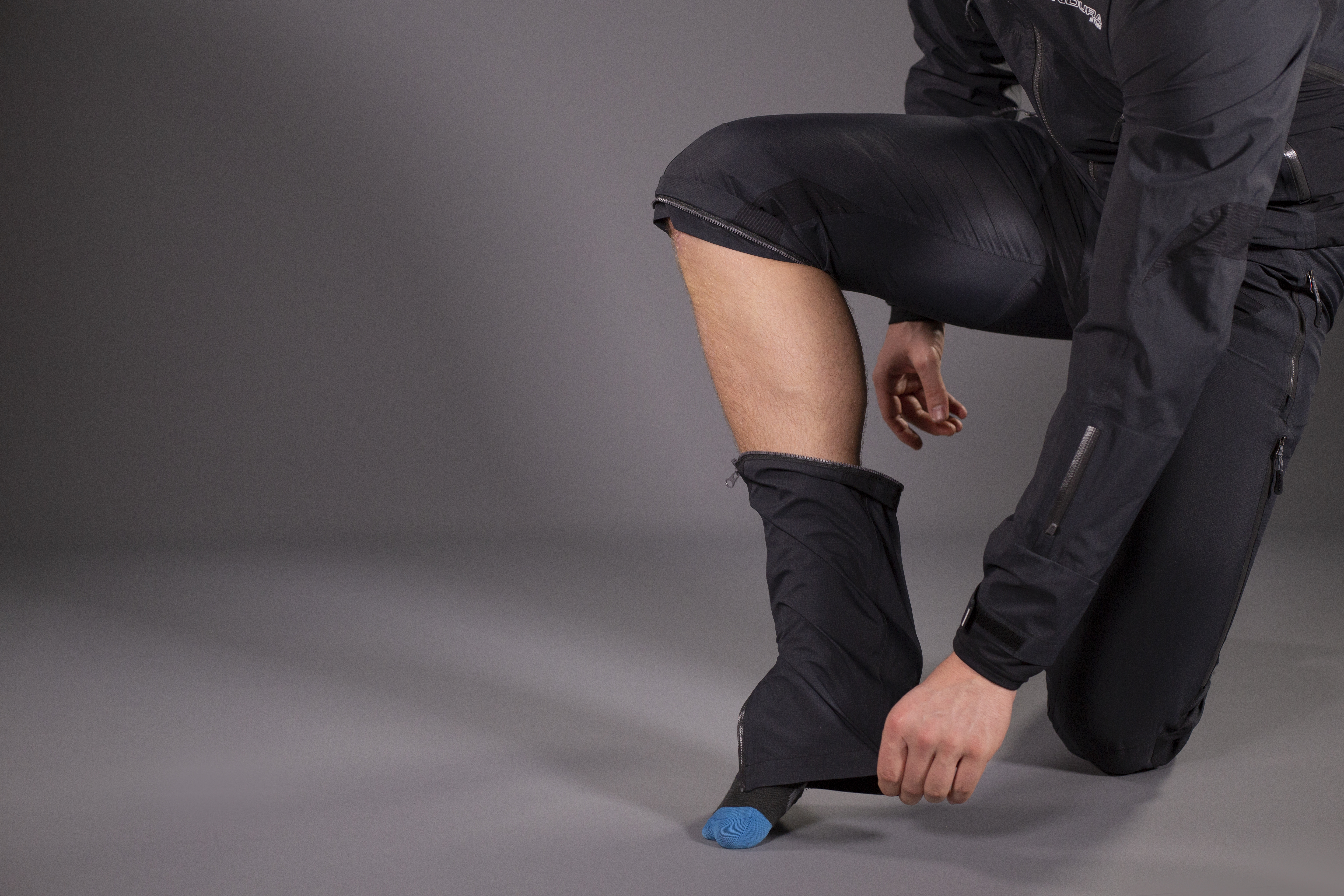 Zip off lower legs for all day riding comfort
