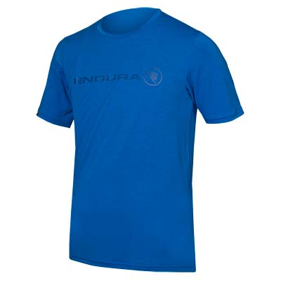 SingleTrack Merino T Azure Blue