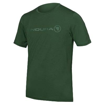 SingleTrack Merino T Forest Green