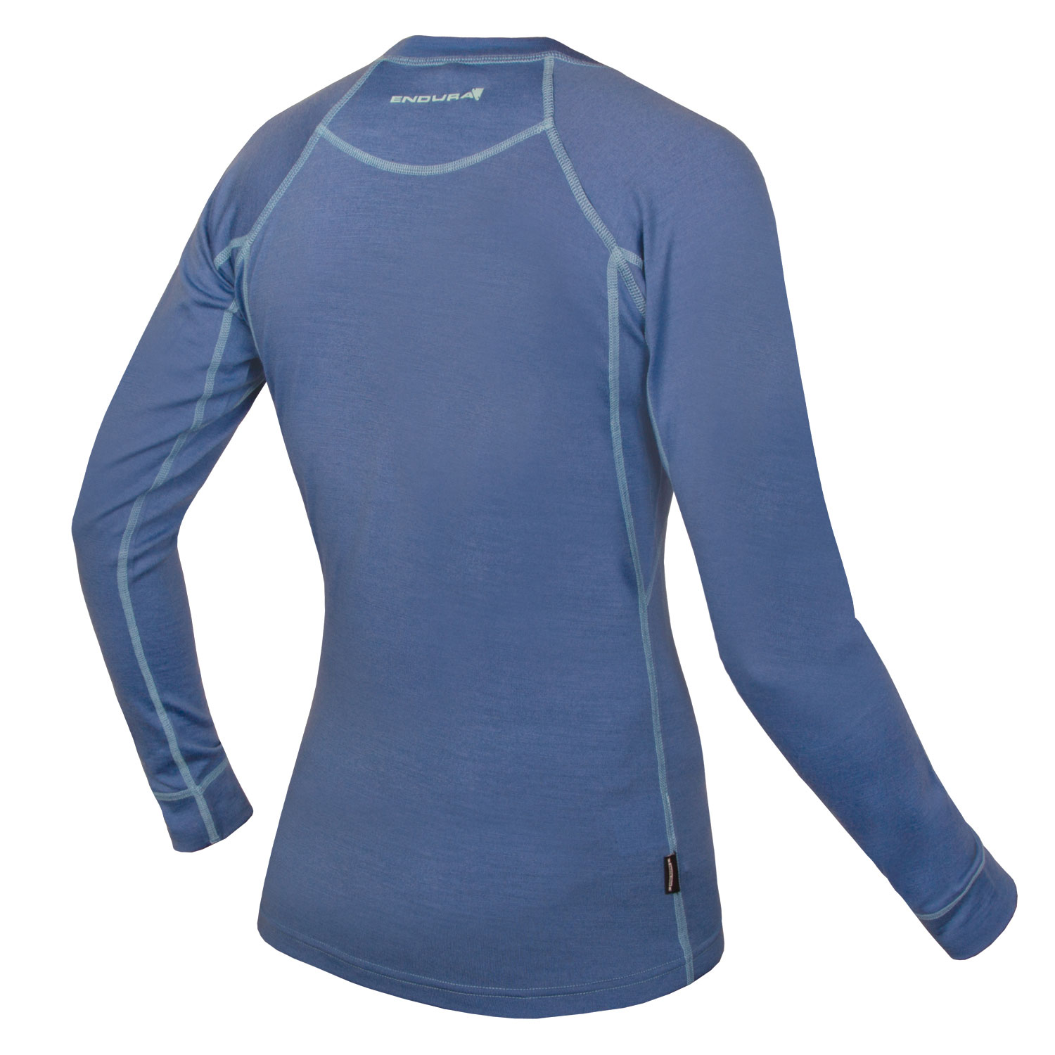 Women's BaaBaa Merino L/S Baselayer Blue