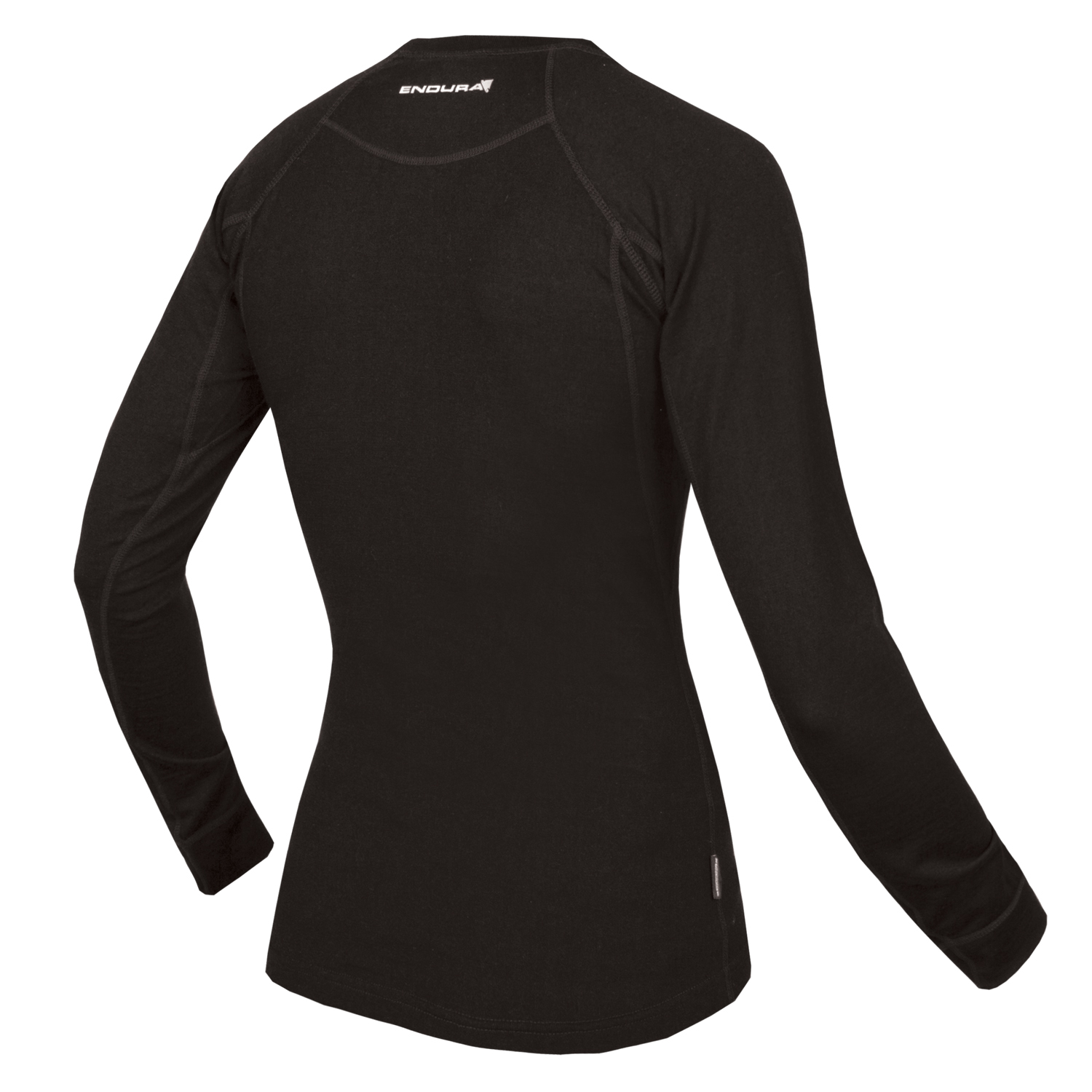 Women's BaaBaa Merino L/S Baselayer Black/None