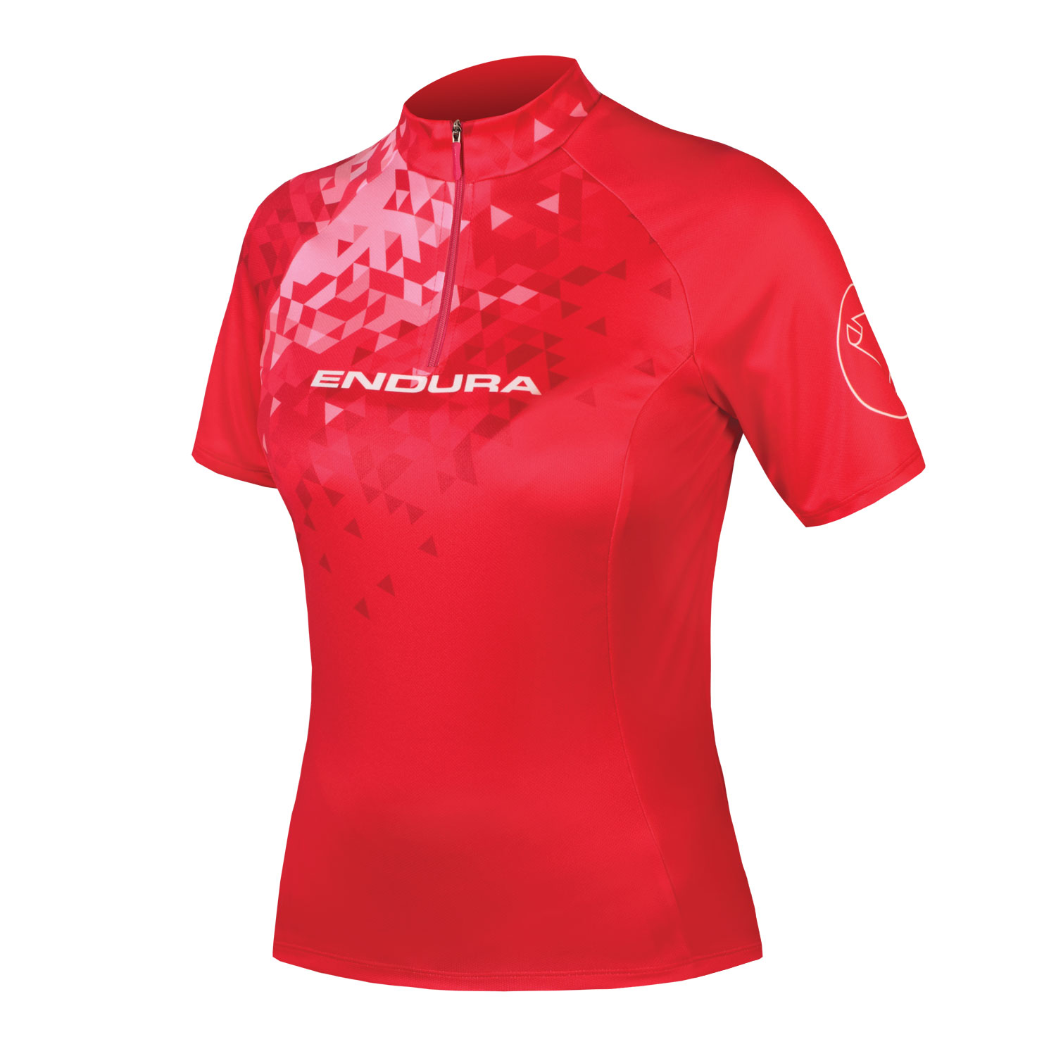 Wms SingleTrack Jersey II Red